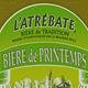 L'Atrebate, bière de printemps