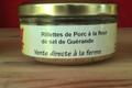 Rillettes de porc à la fleur de sel de Guérande