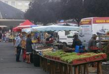 Marché de Conde sur Noireau