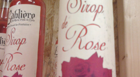 sirop de rose