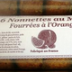 nonnettes au miel fourrée à l'orange
