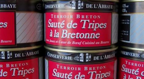 sauté de tripes à la Bretonne