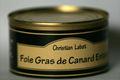 Foie Gras de canard entier 250 grs