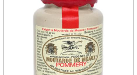 La Moutarde de Meaux® Pommery® cirée 500g