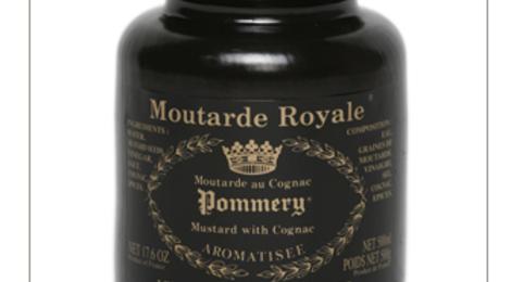 La Moutarde Royale au Cognac Pommery® 500g