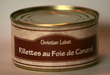 Rillettes au foie de canard  120 g