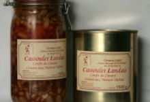 Cassoulet Landais aux Haricots Tarbais - boite 1500 g