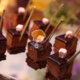 Gâteaux au chocolat et pâte d'amande Sophia & Sonia