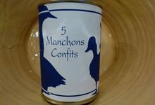 5 manchons de canard confits