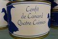 4 cuisses de canard confites