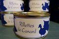 Rillettes pur canard 120grs