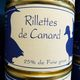 Rillettes 25% foie gras