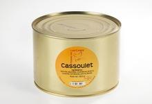 Cassoulet boite fer 1500 grs