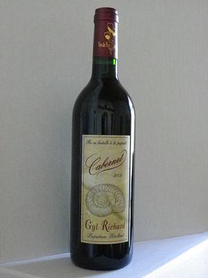 Vin de Pays Charentais - Cabernet 2009