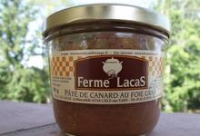 Pâté de canard au foie gras 180 grs