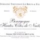 Vin blanc Bourgogne - Hautes Cotes de Nuits 2010