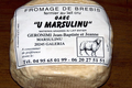 Fromage de brebis Calinzanincu