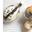 Galets de pommes de terre au caviar (ou oeufs de saumon)
