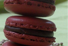 macaron chocolat poivre de sarawak