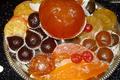 fruits confits glaçés