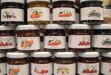Confiture artisanale de fraise et pamplemousse