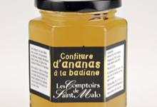 CONFITURE d'Ananas à la Badiane