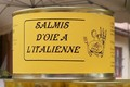 Salmis d'oie à l'italienne
