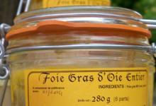 Foie gras d'oie entier 280 grs