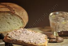 Pâté Limousin aux châtaignes et au foie gras