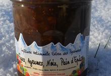 Confiture de Figues aux 3 agrumes éclats de Noix saveur Pain d'épices