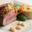 Carré filet d'agneau pané au pain d'épices & flan de Haricots Tarbais