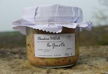 Foie gras d'oie entier 350 grs
