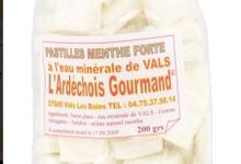 Pastilles menthe à l'eau minérale de Vals les Bains