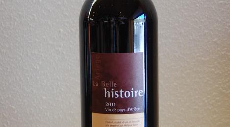 Vin de Pays d'Ariège rouge - La Belle Histoire 2011