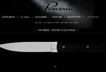 9.47 ébène - coffret 6 couteaux