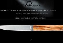 Le 888 - Bois panachés - coffret 6 couteaux