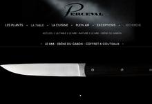 Le 888 - Ebène du Gabon - coffret 6 couteaux