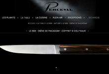 Le 888 - Ebène de Macassar - coffret 6 couteaux