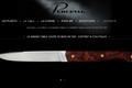 Le Grand-Table loupe de bois de fer - Coffret 6 couteaux