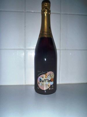 Bull'in rosé - pineau des charentes avec des bulles