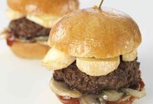 Mini-burgers au Reblochon