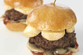 Mini-burgers au Reblochon