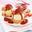Profiterole à la fraise