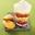Triffle aux fraises et mousse noix de coco