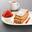 Millefeuille vanille bourbon, granité à la fraise