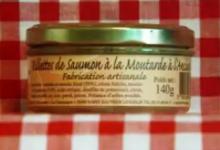 Rillettes de saumon à la moutarde à l'ancienne Maison SAINT-LO