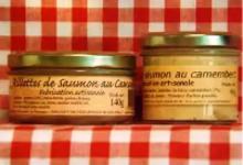 Rillettes de saumon au Camembert Maison SAINT-LO