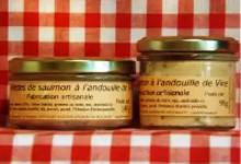 Rillettes de saumon à l'andouille de Vire Maison SAINT-LO