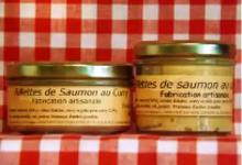 Rillettes de saumon au curry Maison SAINT-LO