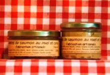 Rillettes de saumon au miel et curry Maison SAINT-LO